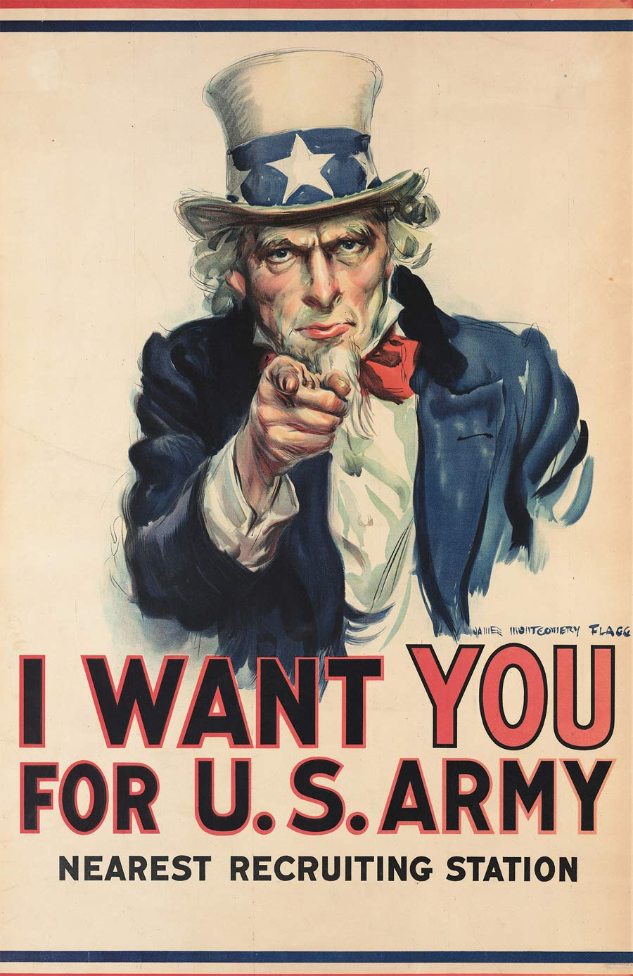I Want You For U.S. Army Uncle Sam Poster