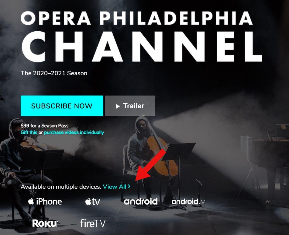 Opera Philadelphia Channel