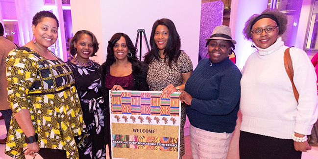 Black History Education Conference Banner