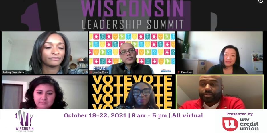 Wisconsin Leadership Summit virtual windows