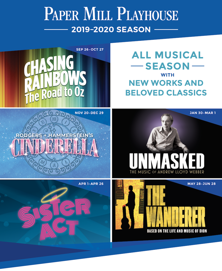 Paper Mill Playhouse 2019-2020 Season