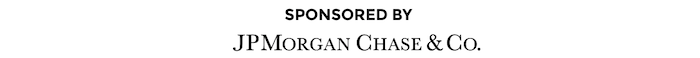 Sponsored by JPMorgan Chase & CO.
