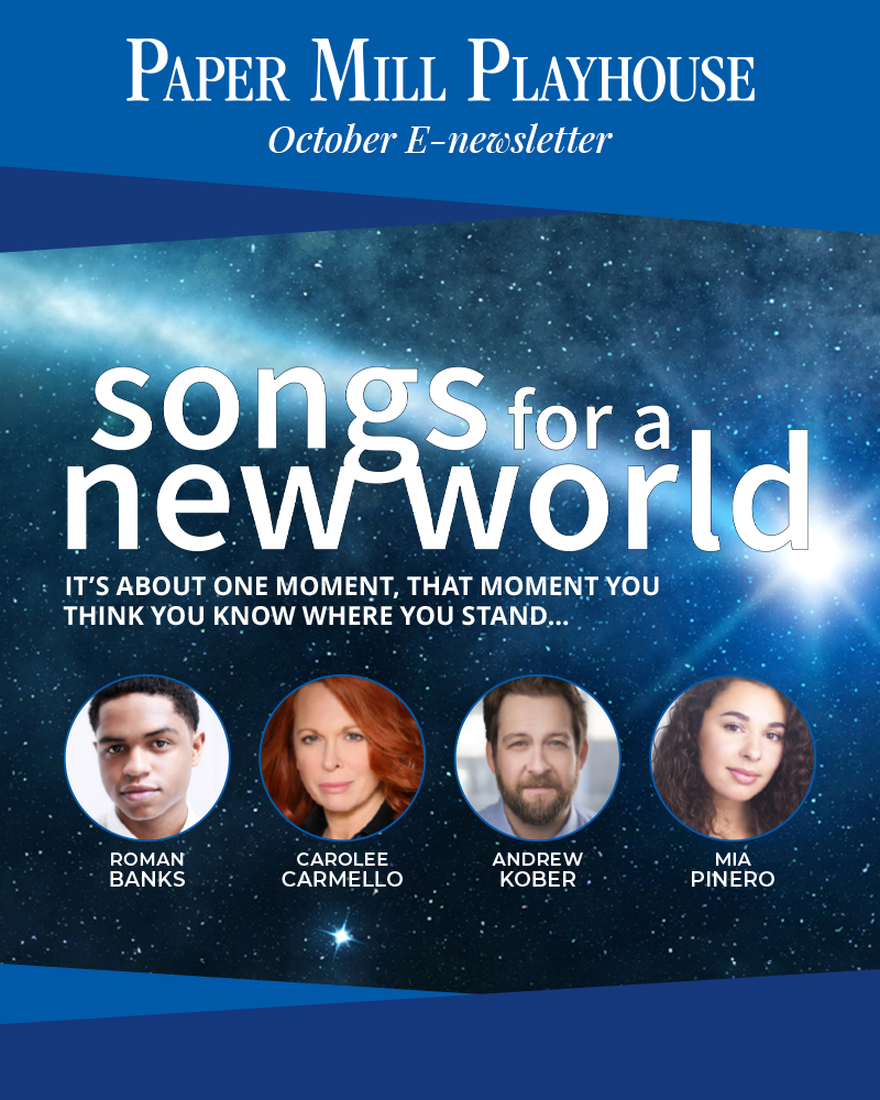 Songs for a New World begins Oct 13