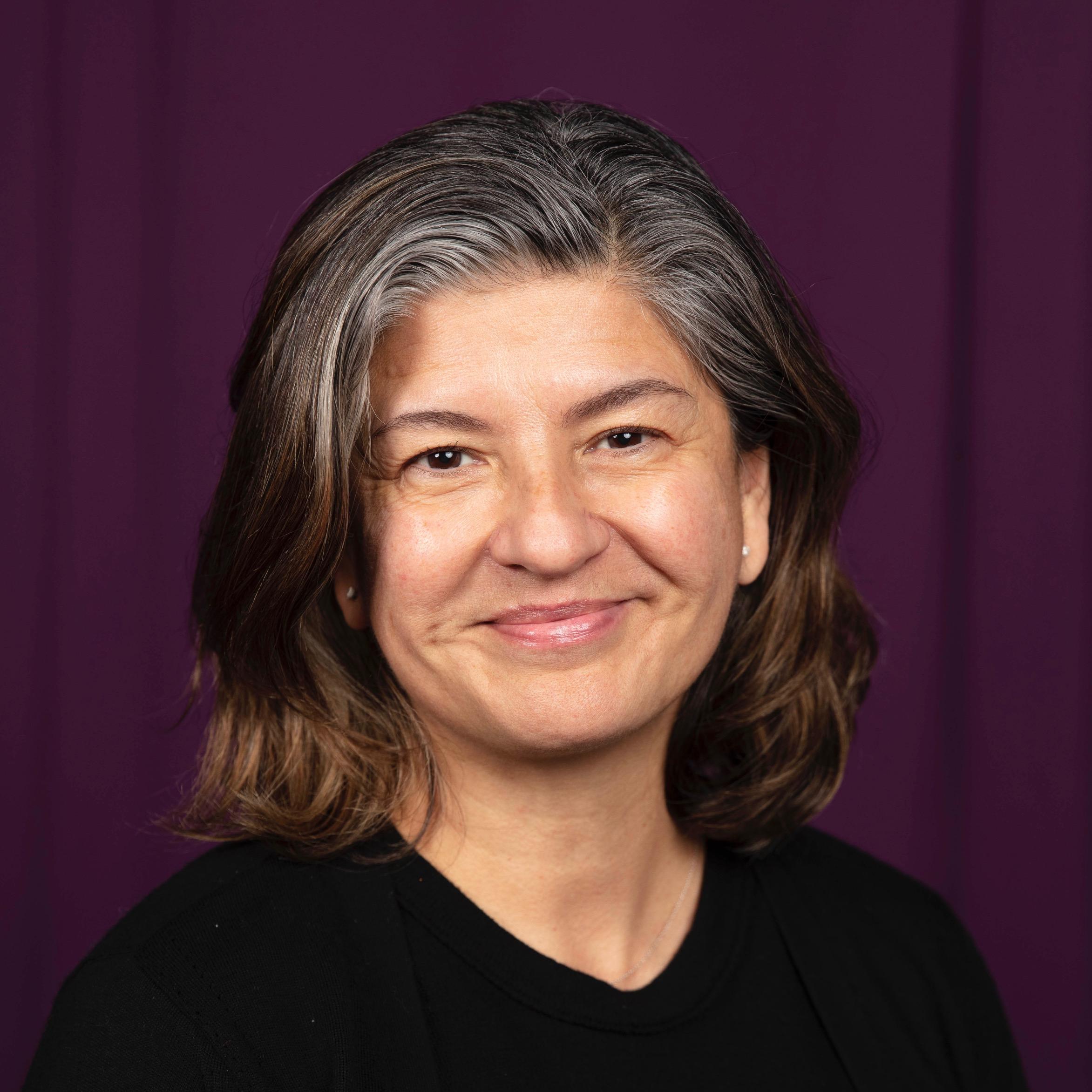 Portrait of Luisa Adrianzen Guyer.