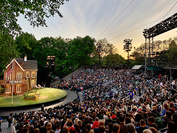 Free Shakespeare in the park for a decade