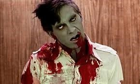 Image of a zombie to illustrate the science of zombies talk.