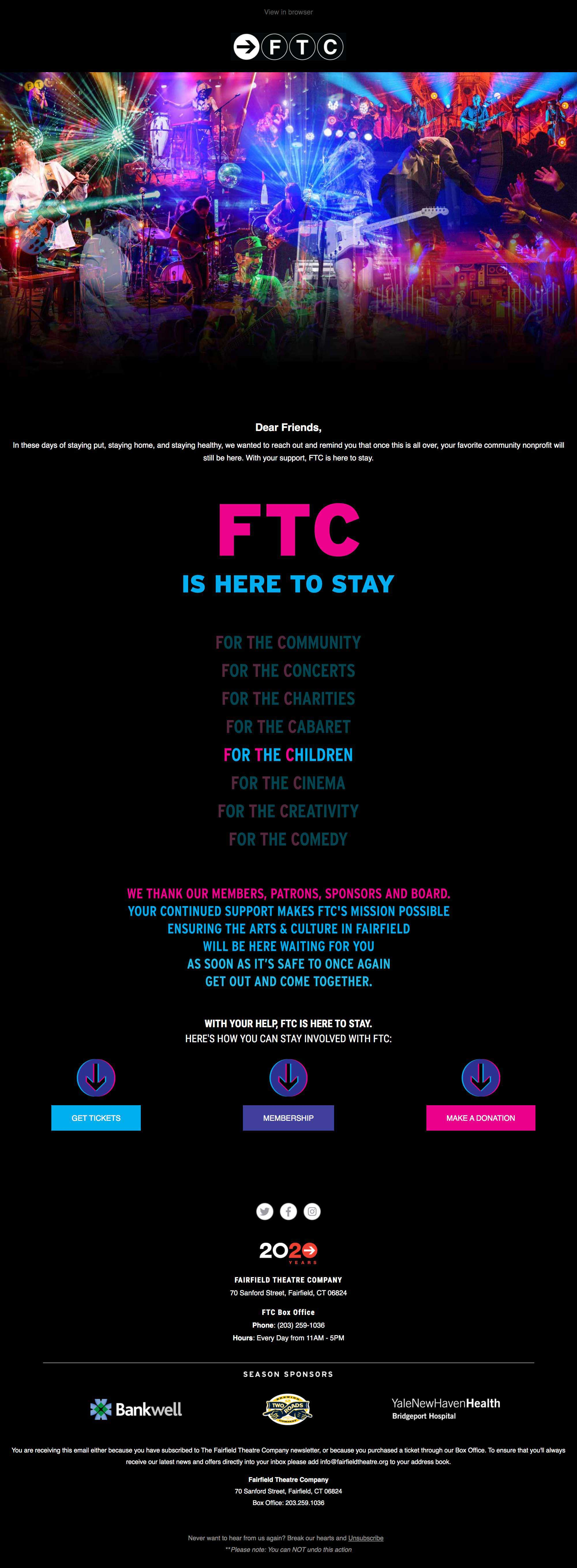 FTC is Here To Stay - desktop view