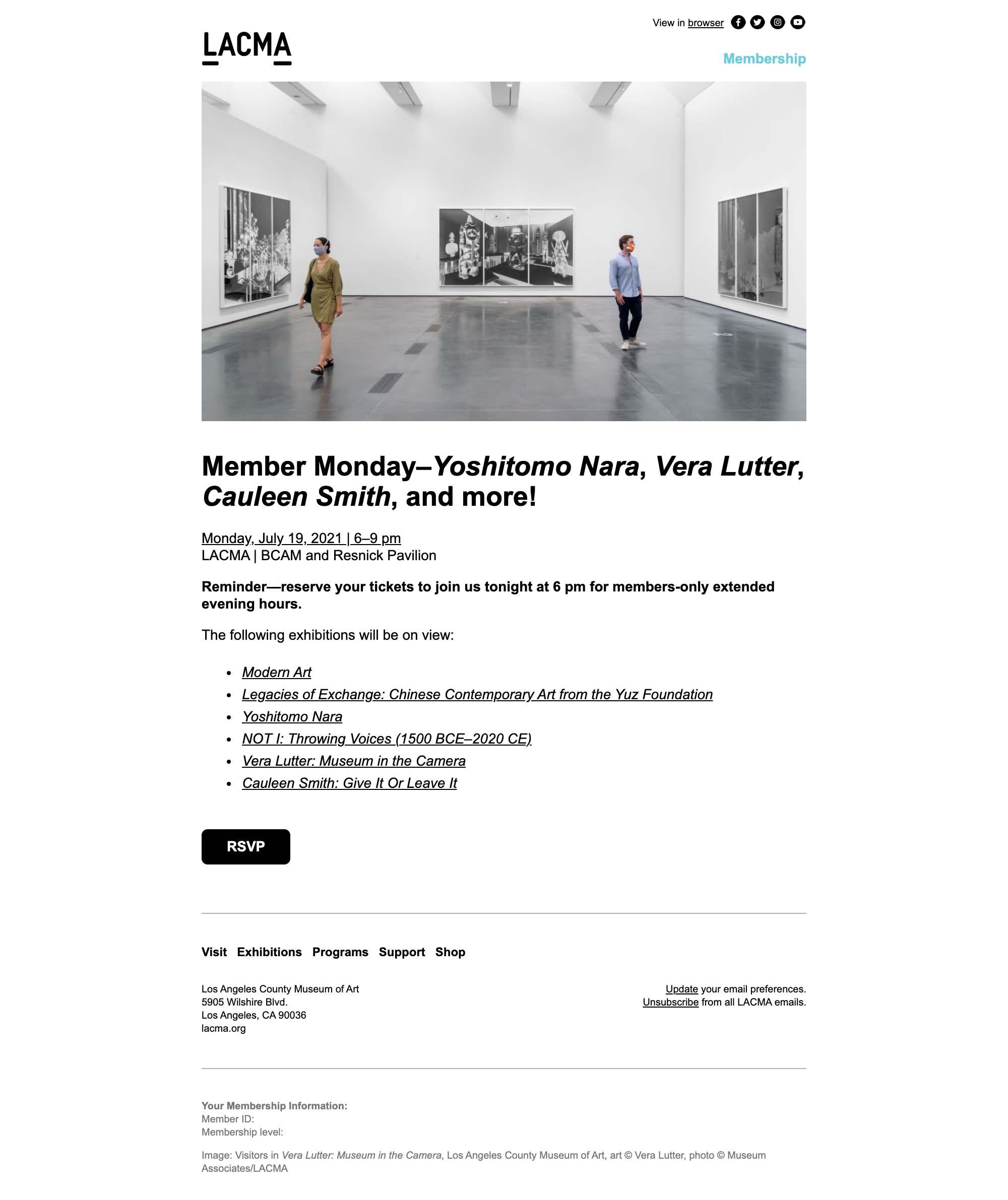Don't miss Member Monday tonight! - desktop view