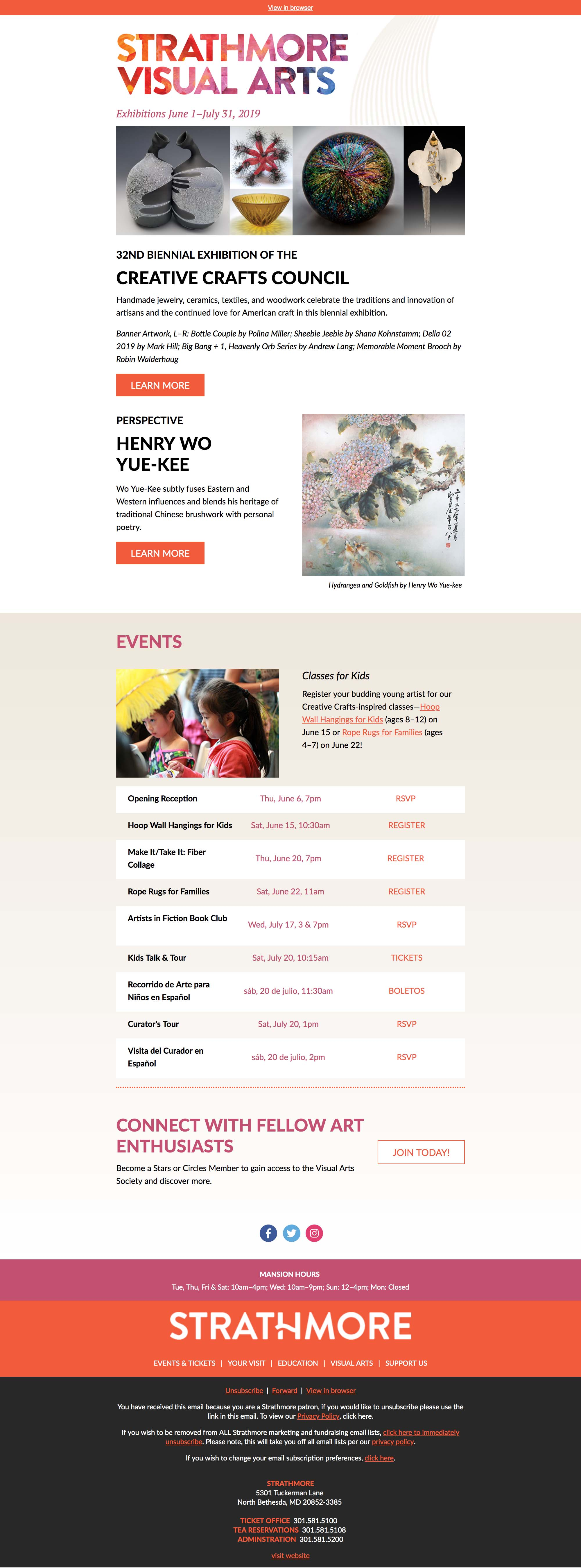 Creative Crafts Council Exhibition Opens Today - desktop view