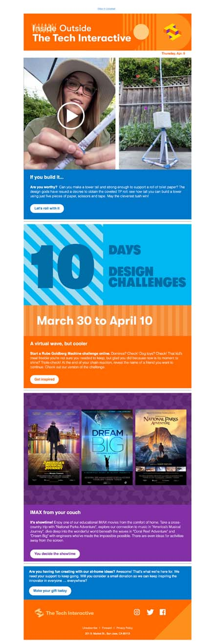 ICYMI: 10-day design challenge rolling full speed ahead