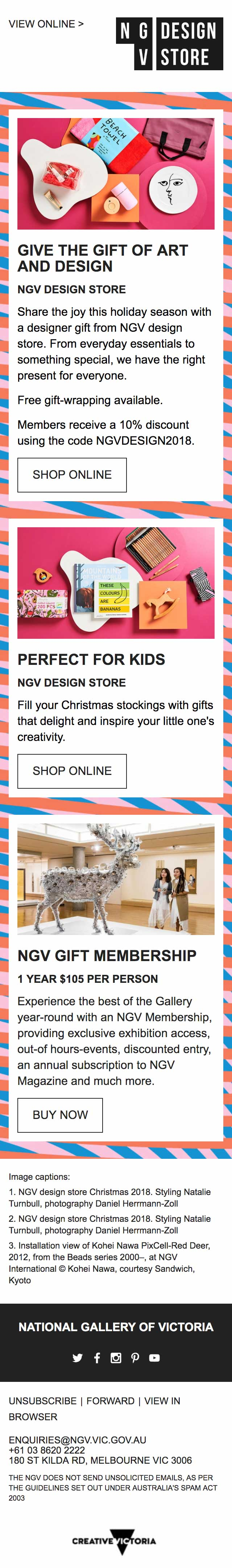 Give the Gift of Art and Design - mobile view