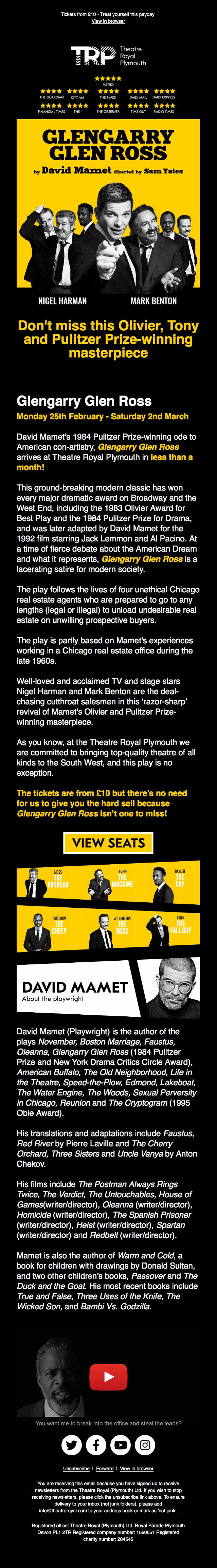 See this Olivier, Tony and Pulitzer Prize-winning masterpiece from £10 - mobile view
