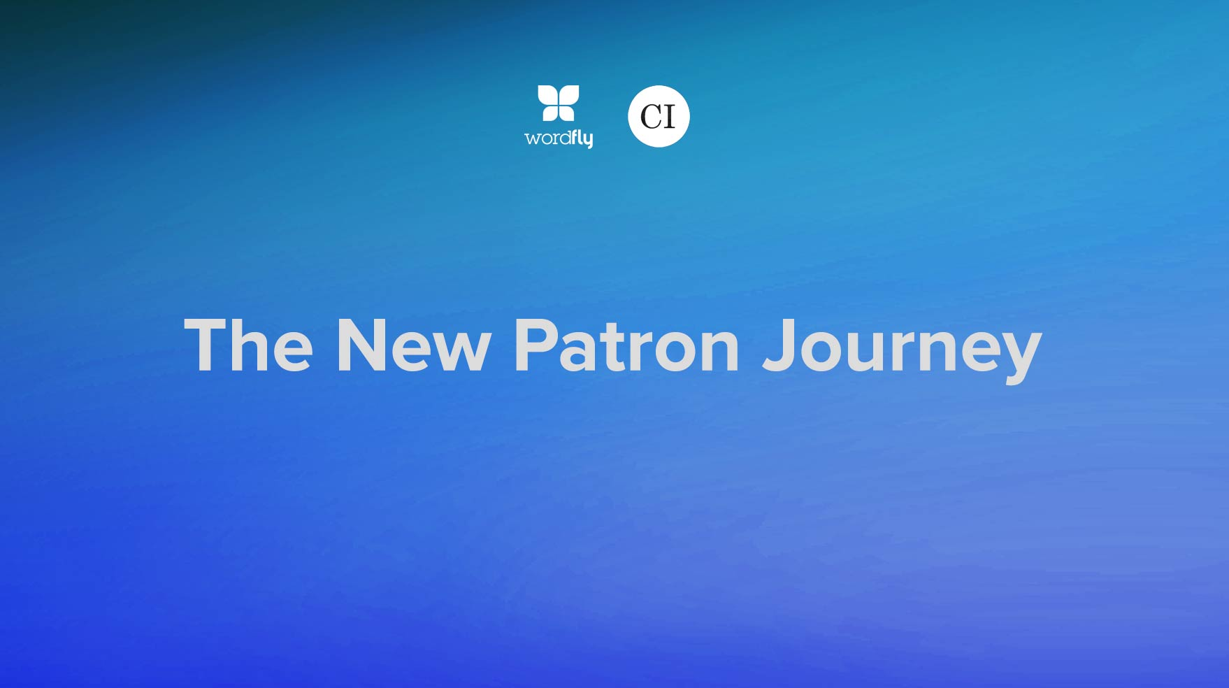 The New Patron Journey with Capacity Interactive