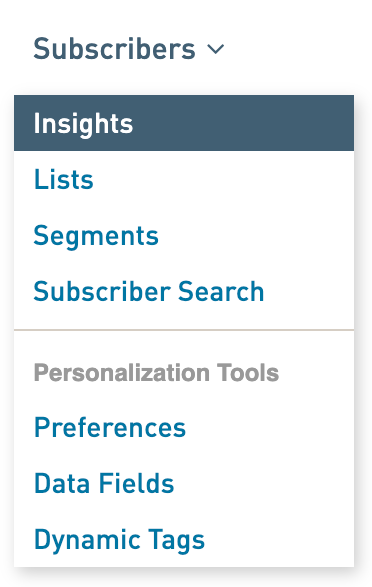 Subscriber Insights: reviewing and exporting insight data – WordFly