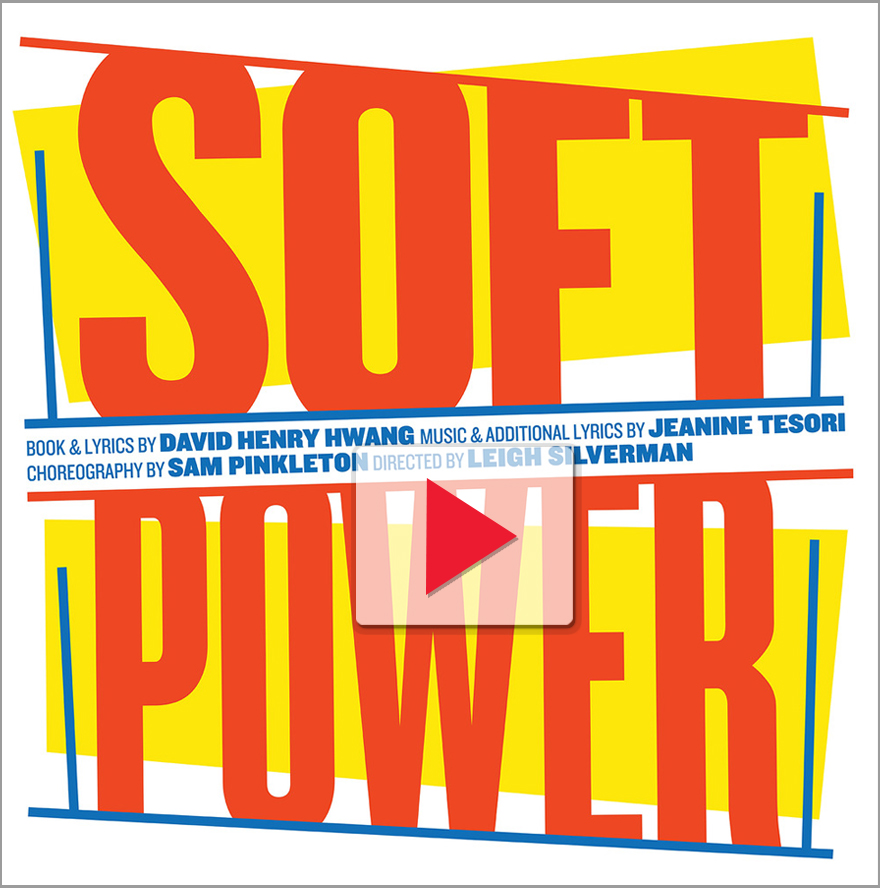 graphic title text for soft power.