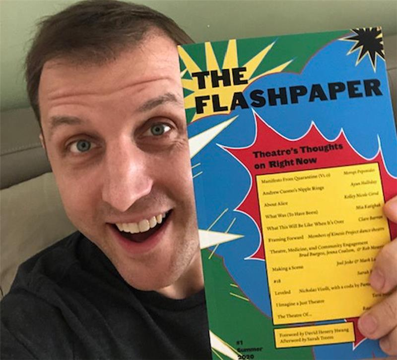 Mark Blankenship with The Flashpaper
