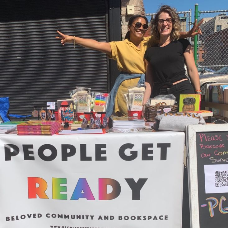 Lauren and Delores, owners of People Get Ready